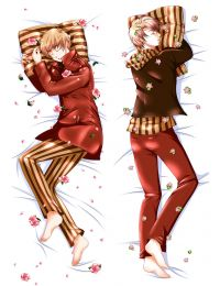 Hetalia: Axis Powers Hetalia HETALIA APH Anime Dakimakura Pillow Cover