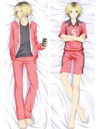 Haikyu!!Nekoma High Kenma Kozume Anime Dakimakura Pillow Cover