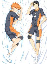 Haikyu!! Karasuno High School MB Shōyō Hinata Tobio Kageyama Anime Dakimakura Pillow Cover