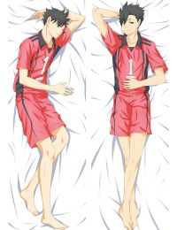 2017 New Anime Haikyuu!! Tetsurou Kuroo Dakimakura Hugging Body Pillow Case Cover