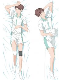 2017 New Anime Haikyuu!! Tooru Oikawa Dakimakura Hugging Body Pillow Case Cover