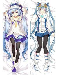 2017 New Khawaii Vocaloid Hatsune Snow Miku Dakimakura Hugging Body Pillow Cases Cover
