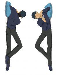Detective Conan Shuichi Akai Anime Dakimakura Pillow Cover