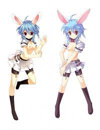 Trickster Online Bunny Anime Dakimakura Pillow Cover