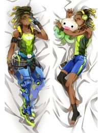 2017 New Game Overwatch LUCIO OW Otaku Dakimakura Pillow Case Cover Hugging Body