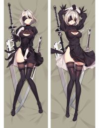 2017 New Game NieR Automata YoRHa 2B Dakimakura Hugging Body Pillow Case Cover