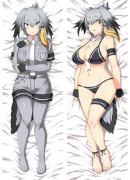 2017 Newly Anime Kemono Friends Shoebill Sexy Dakimakura Pillow Case Hugging Body