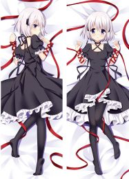 Anime Rewrite Dakimakura Hugging Body Kagari Pillow Case cover