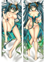 2017 New Anime Dakimakura Pillow Case LOL League of Legends Sona Buvelle