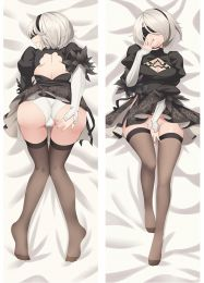 2017 New Game NieR: Automata YoRHa No.2 Type B Body Cover Pillow Case Dakimakura Hugging