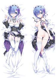 Re:Zero Dakimakura Rem Anime Girl Hugging Body Pillow Cases Cover