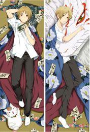 Anime Natsume's Book of Friends Dakimakura otaku Pillow Case Cover Hug Body