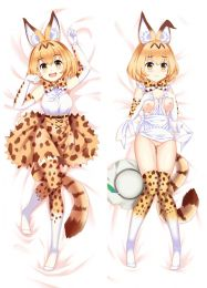 NEW Kemono Friends Rekita Fox Anime Pillow Case Japan otaku Hugging Body Dakimakura r18