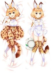 NEW Kemono Friends Rekita Fox Anime Pillow Case Japan otaku Hugging Body Dakimakura