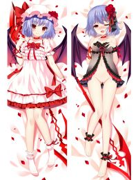 Anime Dakimakura TouHou Project Remilia Scarlet Hug Body Pillow Case