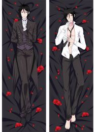 Black Butler Sebastian Michaelis Anime Dakimakura Pillow Case