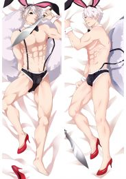 Juni Taisen Zodiac War Rabbit Usagi Anime Dakimakura Pillow Cover