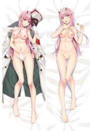Darling in the Franxx Zero Two 002 Anime Dakimakura Pillow Cover