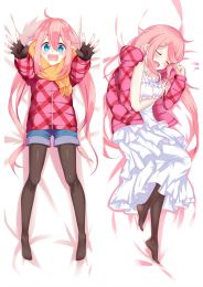 Laid-Back Camp Nadeshiko Kagamihara Anime Dakimakura Pillow Cover