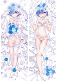 Re:Zero Starting Life in Another World Rem Anime Dakimakura Pillow Cover
