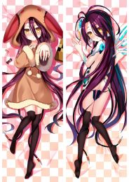 NO GAME NO LIFE Shuvi Dola Anime Dakimakura Pillow Cover Mgf-86129
