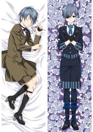 Black Butler Ciel Phantomhive Anime Dakimakura Pillow Cover Mgf-87012