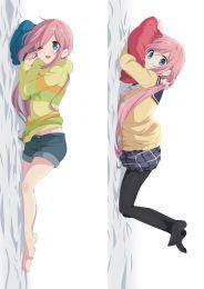 Laid-Back Camp kagamihara nadeshiko Anime Dakimakura Pillow Cover 910056