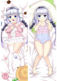 Miss Kobayashi's Dragon Maid Kanna Kamui Anime Dakimakura Pillow Cover Mgf-93010