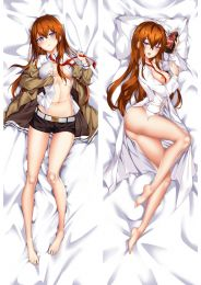 Steins Gate Kurisu Makise Anime Dakimakura Pillow Cover Mgf-93031