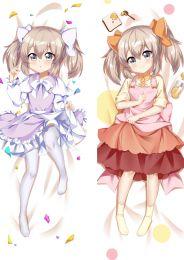 Uti no musume no tameni naraba、Ore ha moshikashitara maou mo taseru ka mo shi re nai Anime Dakimakura Pillow Cover 98043