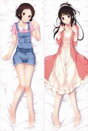Hyou-ka You Can't Escape - Mayaka Ibara + Eru Chitanda Pillow Cover