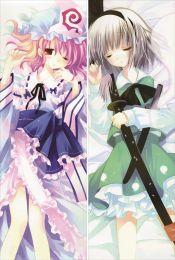 TouHou Project - Saigyouji Yuyuko + Youmu Konpaku Pillow Cover