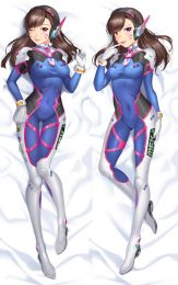 Overwatch - D.VA Anime Dakimakura Japanese Pillow Cover