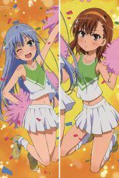 A Certain Magical Index - Mikoto Misaka + Index Librorum Prohibitorum Anime Dakimakura Pillow Cover