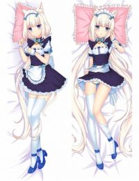 Nekopara - Vanilla Anime Dakimakura Japanese Pillow Cover
