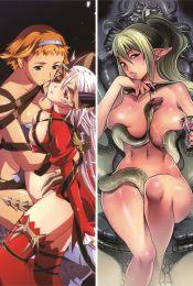 Queen's Blade - Echidna Anime Dakimakura Pillow Cover