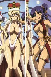 Freezing - Satellizer el Bridget + Rana Linchen Anime Dakimakura Pillow Cover