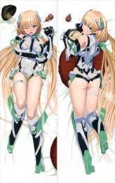 Rakuen Tsuiho Expelled from paradise - Angela Balzac Anime Dakimakura Japanese Pillow Cover
