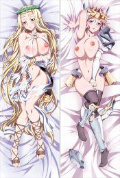 Kuroinu ~ Kedakaki Seijo wa Hakudaku ni Somaru ~ - Celestine Lucullus Anime Dakimakura Japanese Pillow Cover