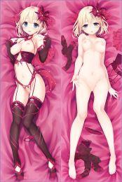 Maitetsu Hinai Paulette Anime Dakimakura Pillow Cover