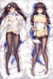 Girls' Frontline QBZ95 Apart Legs With a Hole to Make Sex Anime Dakimakura Pillow Case WOW-SM2023-apart