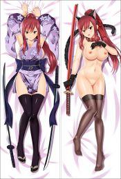 Fairy tail Erza Scarlet Anime Dakimakura Pillow Cover SM2455