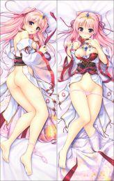 Sen no Hatou, Tsukisome no Kouki miyakuni akari  Anime Dakimakura Pillow Cover SM2572