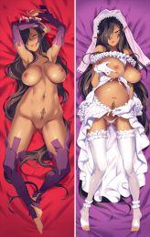 Black beast Olga discordia Airi Anime Dakimakura Pillow Cover SM2644