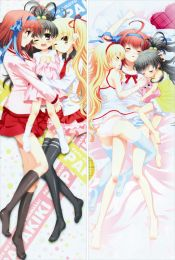 Listen to Me, Girls. I Am Your Father! - Miu Takanashi + Sora Takanashi Anime Dakimakura Pillow Cover