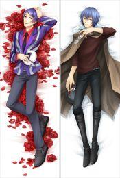 Tokyo Ghoul Shū Tsukiyama&Ayato Kirishima Anime Dakimakura Pillow Case