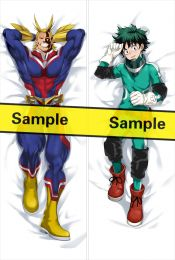 My Hero Academia Izuku Midoriya Toshinori Yagi All Might Anime Dakimakura Pillow over YC0817