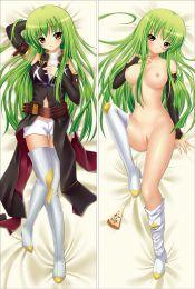 Code Geass Lelouch of the Rebellion C.C. Anime Dakimakura Pillow Cover
