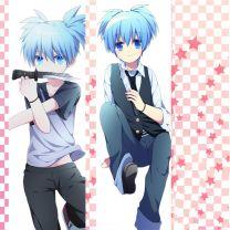 Assassination Classroom Nagisa Shiota Anime Dakimakura Pillow Case Hugging Body