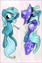 Hot Anime MLP My Little Pony: Friendship Is Magic Trixie Anime Dakimakura Pillow Cover